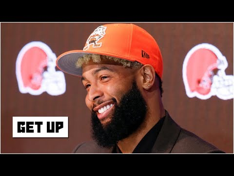 Video: The Browns will embrace Odell Beckham Jr., unlike the Giants did - Domonique Foxworth | Get Up