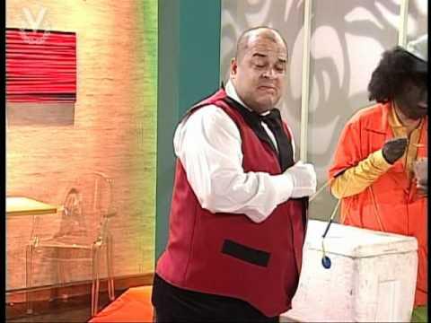 A Que Te Ríes - Scketch El Mesonero Maracucho 28 de agosto 2011