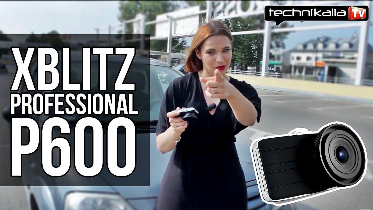 Kamera samochodowa XBLITZ Professional P600 - test