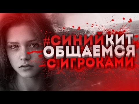 ИГРА СИНИЙ КИТ - ОБЩАЕМСЯ С ИГРОКАМИ. ЧАСТЬ 2. Меня заблокировали (видео)