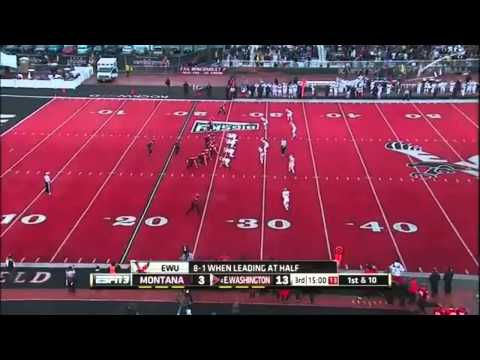 Zack Wagenmann vs Eastern Washington 2014 video.