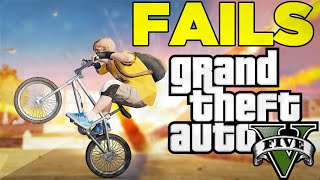 "GTA 5 Funny Moments: GTA 5 Stunts FAILS! (GTA5 Funny Moments) ""GTA 5 Funny Moments"" Online! ""BMX"" - YouTube"