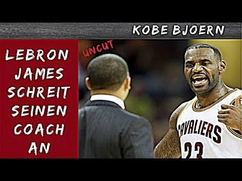 Lebron James schreit Tyron Lue an - KobeBjoern uncut