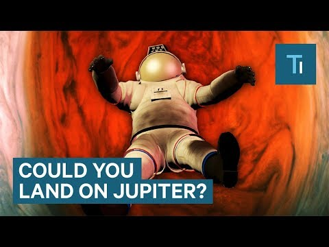 What Would Happen If We Tried To Land on Jupiter