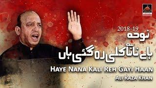 Noha - Haye Nana Kali Reh Gayi Haan - Ali Raza Khan - 2018