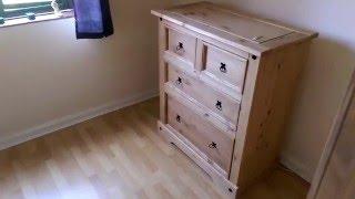 VIDEO: 3-Piece Corona Bedroom Set - Bonymaen, Swansea
