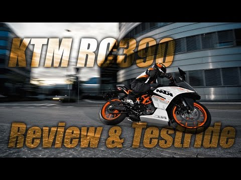 KTM RC390 Review & Testride