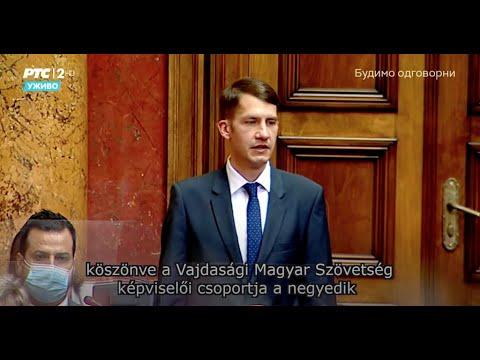 Ivica Dačić lett a szerbiai köztársasági parlament új elnöke-cover