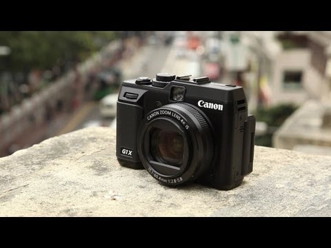 World's First Canon Powershot G1 X Hands-on Review