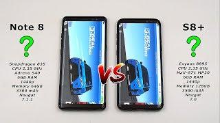 Video Samsung Note 8 vs Galaxy S8 Plus Speed Test! (Snapdragon 835 vs Exynos 8895 6GB RAM) [4K] MP3, 3GP, MP4, WEBM, AVI, FLV Februari 2018