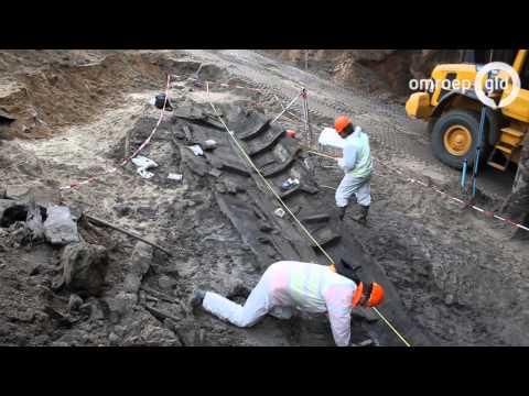 Archeologen stressen over 400 jaar oud schip en de winter