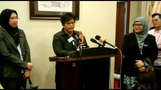 Mesyuarat Task Force Jenayah Seksual Kanak-Kanak Pada 6 September Ini - Azalina Othman Said