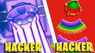 Bloons TD Battles Hacked - HACKER VS HACKER - Modded Temple Of Sun God | JeromeASF