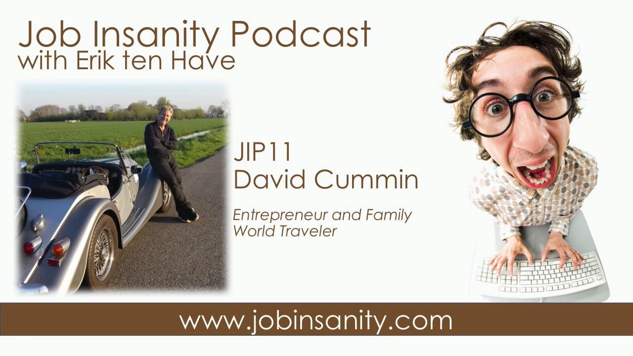 Watch David Cummin Entrepeneur and Family World Traveler