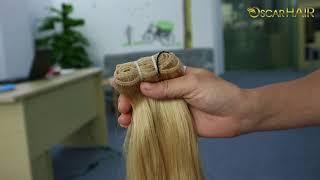 Vietnamese Hair – Double Drawn Weft Natural Wavy Hair Color #24