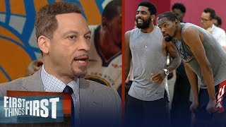 Chris Broussard breaks down a scenario where the Knicks land dream Big 3 | NBA | FIRST THINGS FIRST