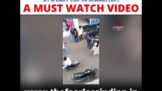 XxX Hot Indian SeX Lady Cop Molested By Road Side Romeo In Shamli UP .3gp mp4 Tamil Video