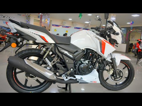 New TVS Apache RTR 160 2V BS6 2020 model!! Pearl White | Price Mileage Exhaust | Honest Review