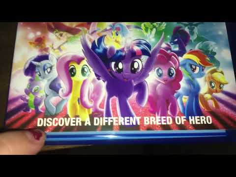 My Little Pony The Move DVD, Bluray, And Digital HD Target Exclusive (Review)