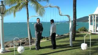 Coral Sea Resort. 3 Minute highlight. Ceremony + pre-ceremony.