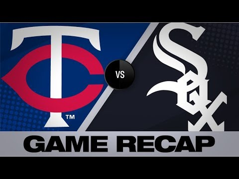 Video: Gonzalez, Schoop homer to lift Twins to win | Twins-White Sox Game Highlights 8/27/19