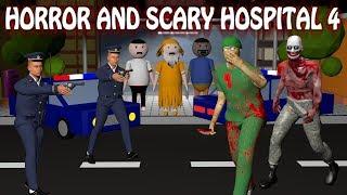 Horror Hospital 4 - Doctor Vs Patient | Horror Story (Animated In Hindi) Make Joke Horror