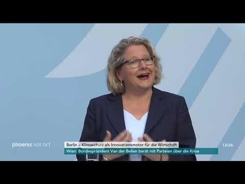 Eröffnungsrede von Svenja Schulze zur Umweltpolitik b ...