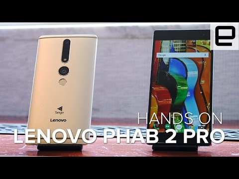 Lenovo Phab 2 Pro Hands On