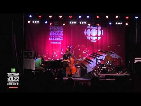 Tyson Naylor Trio (2013-07-03) Scène CBC/Radio-Canada