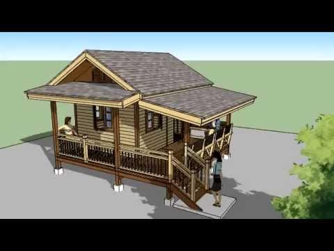 บ้านไม้ - http://www.thaidrawing.com/?p=7124 สั่งจองและสั่งซื้อแบบบ้านไม้รีสอร์ท...