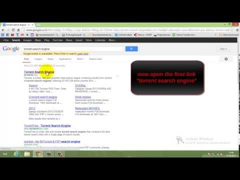 how to download movies from torrent (tutorial)