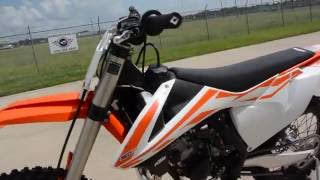2. $6,999:  2017 KTM 150 SX Overview and Review