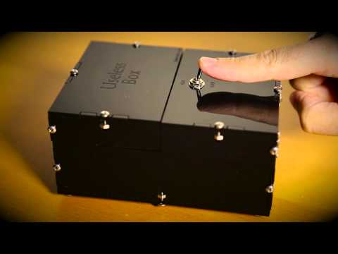WATCH: The Useless Box, somehow funny!