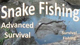 An advanced survival demonstration of how to fish for snakes using primitive materials and techniques. WARNING: Snake handling is inherently dangerous and the techniques demonstrated in the above video should only be considered during a survival situation.  No snakes were harmed in the production of this video.To find my Facebook:  https://www.facebook.com/BobHanslerTo support us:  Paypal   bobhansler@yahoo.comor  Patreon  https://www.patreon.com/user?u=2838693