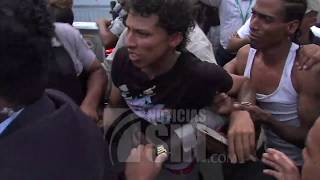 Video íntegro: Trasladan al Palacio de Justicia SDE a implicados en caso David Ortiz