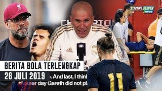 Video Zidane Sanjung Bale 😍 Klopp Tolak Coutinho Kembali 😱 Asensio Harus di Operasi - Berita Bola MP3, 3GP, MP4, WEBM, AVI, FLV Agustus 2019