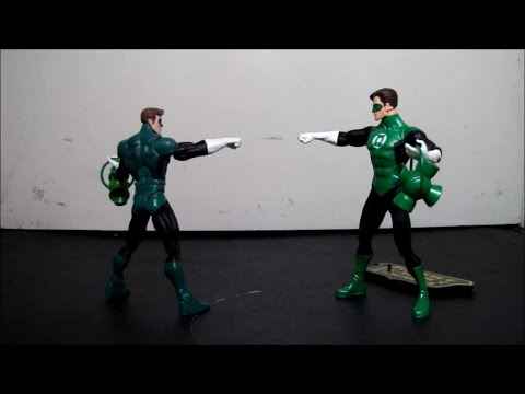 Figure Match Ups: DC Direct vs Mattel: Green Lantern Hal Jordan