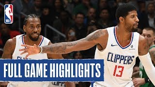 CELTICS at CLIPPERS | FULL GAME HIGHLIGHTS | November 20, 2019 by NBA