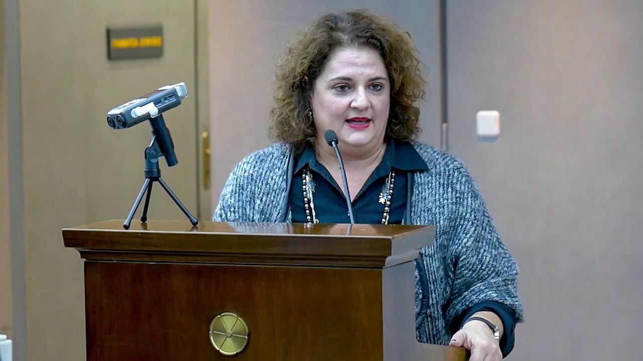 Πρόληψη και Καταπολέμηση της Βίας κατά των Γυναικών -Αγγελική Παπάζογλου