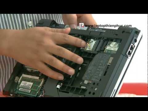 Hướng dẫn tháo lắp vệ sinh Hp elitebook 2560p