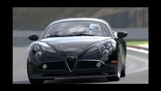 Alfa Romeo 8C Competizione 2008 -483 Kw-1284 Kg-Testdrive In Spa-SoundDesign-2&Tuned By Morute