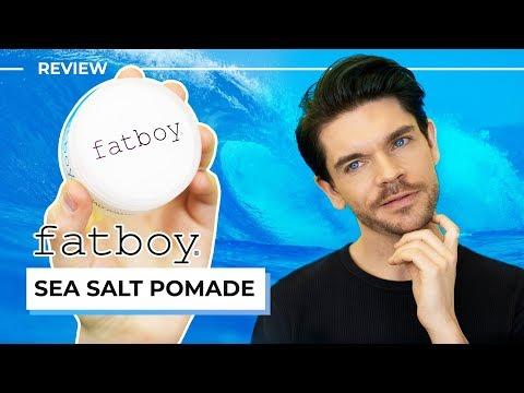 Beard styles - Fatboy Sea Salt Pomade  Honest Review