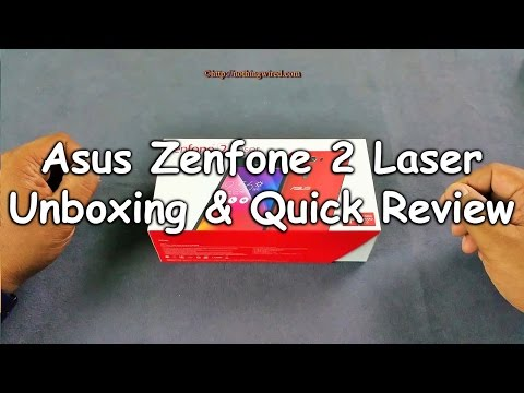 Asus Zenfone 2 Laser ZE550KL Unboxing & Quick Review