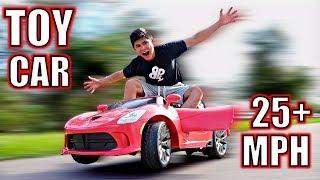 Video DIY ELECTRIC TOY CAR!! (25+MPH) MP3, 3GP, MP4, WEBM, AVI, FLV April 2018
