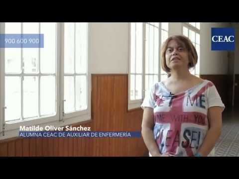 CEAC Opiniones: Matilde, alumna Auxiliar de Enfermería