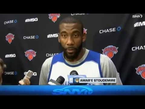 Video: Knicks Update: Derek Fisher & Amar'e Stoudemire