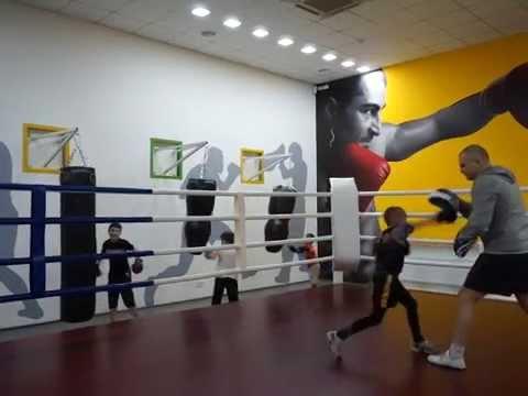 Бокс для детей в Харькове. Тренер Пивоваров Виталий.