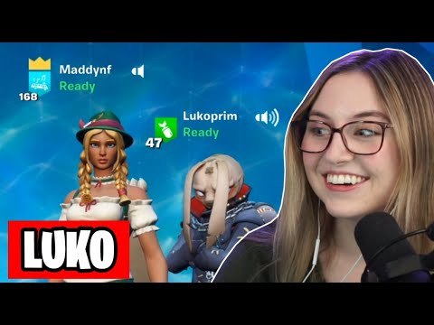Maddynf meeting Luko for the first time + never before seen funny clips!