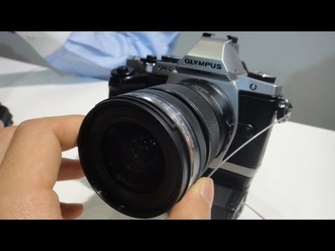 Olympus OM-D EM-5 Mirrorless Camera With Electronic Viewfinder