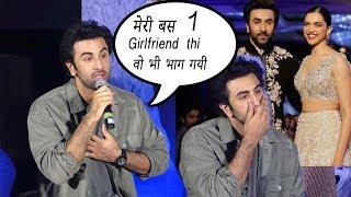Video Ranbir Kapoor Breaks Down Talking About Ex Girlfriend Deepika sanju trailer launch MP3, 3GP, MP4, WEBM, AVI, FLV Oktober 2018